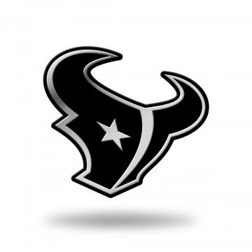 Houston Texans Chrome Auto Emblem
