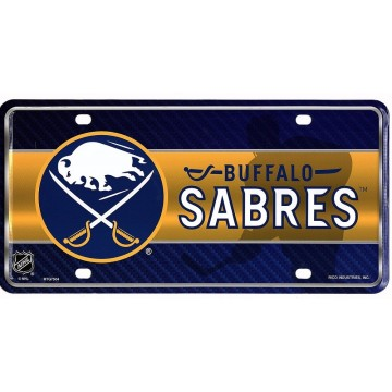Buffalo Sabres Metal License Plate