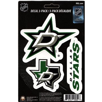 Dallas Stars Team Decal Set