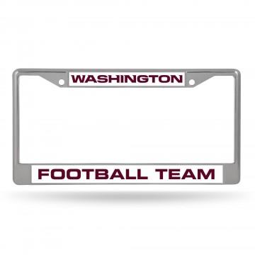 Washington Football Team Chrome License Plate Frame