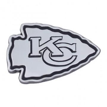 Kansas City Chiefs 3-D Metal Auto Emblem