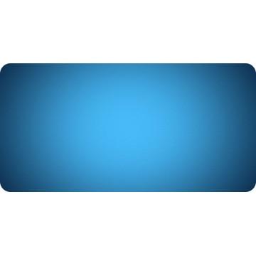 Blue Fade Photo License Plate