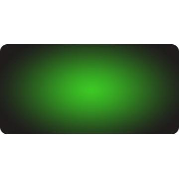 Green Fade Photo License Plate