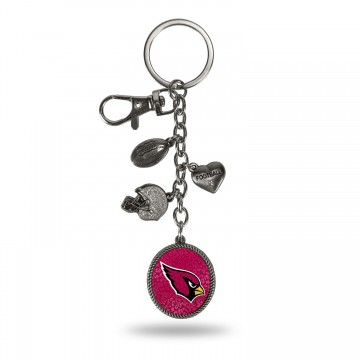 Arizona Cardinals Charm Key Chain