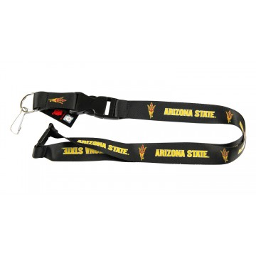 Arizona State Sun Devils Black Lanyard With Safety Latch