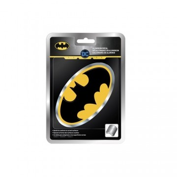 Batman Oval Aluminum Decal