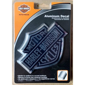 Harley-Davidson Bar And Shield Aluminum Decal