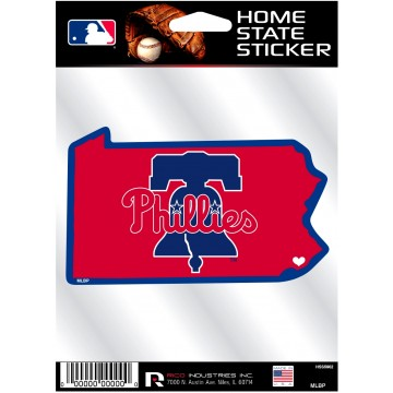 Philadelphia Phillies Home State Vinyl Sticker