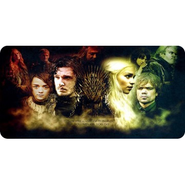 Game Of Thrones #2 Photo License Plate
