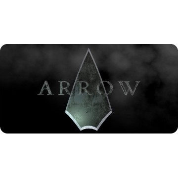 Arrow Photo License Plate