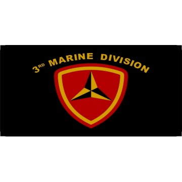 3rd Marine Division Photo License Plate