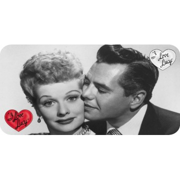 I Love Lucy #3 Photo License Plate