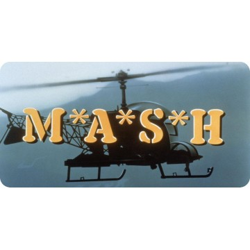 M*A*S*H Photo License Plate
