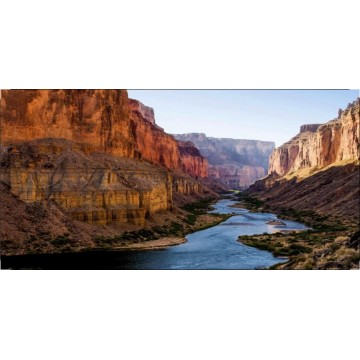 Colorado River Scene Photo License Plate
