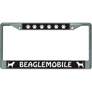 Beaglemobile Chrome License Plate Frame