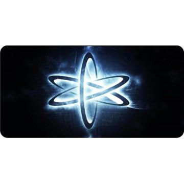 Atheist Atomic Whirl Photo License Plate