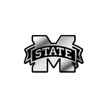 Mississippi State Bulldogs NCAA Plastic Auto Emblem