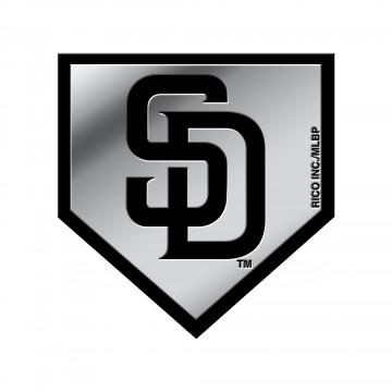 San Diego Padres MLB Plastic Auto Emblem