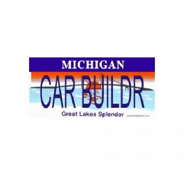 Design It Yourself Michigan State Look-Alike Plate