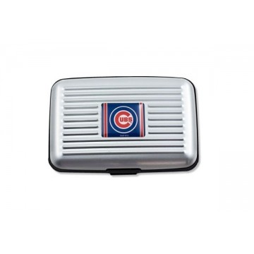 Chicago Cubs Aluminum Wallet