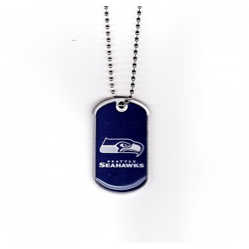 Seattle Seahawks Domed Dog Tag