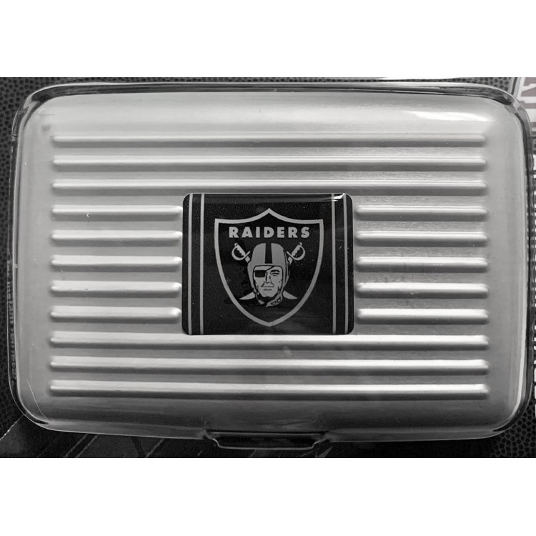 Oakland Raiders Aluminum Wallet