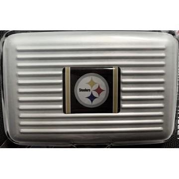 Pittsburgh Steelers Aluminum Wallet