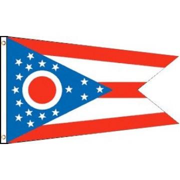Ohio Polyester Flag
