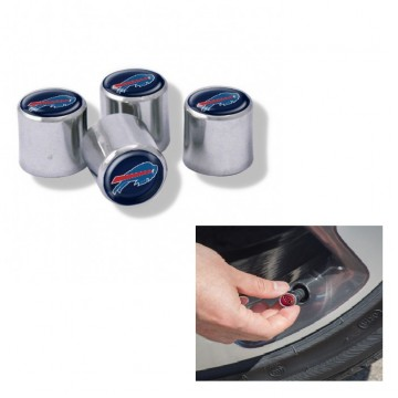 Buffalo Bills Chrome Valve Stem Caps