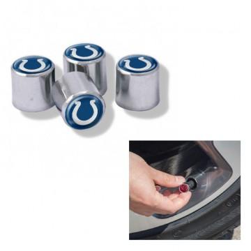 Indianapolis Colts Chrome Valve Stem Caps