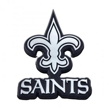New Orleans Saints 3-D Metal Auto Emblem