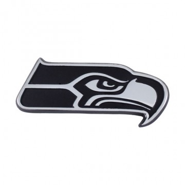 Seattle Seahawks 3-D Metal Auto Emblem