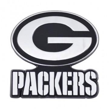Green Bay Packers 3-D Metal Auto Emblem