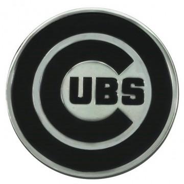Chicago Cubs 3-D Metal Auto Emblem