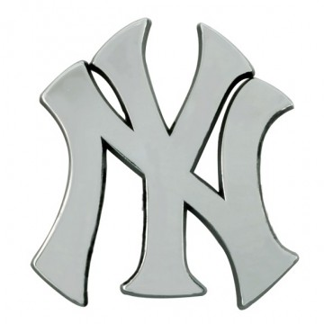 New York Yankees 3-D Metal Auto Emblem