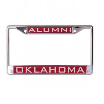 Oklahoma Sooners Alumni Laser Chrome License Plate Frame