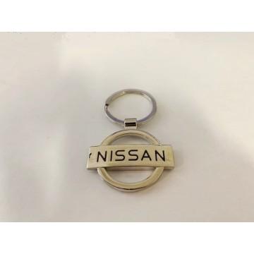 Nissan Logo Metal Key Chain