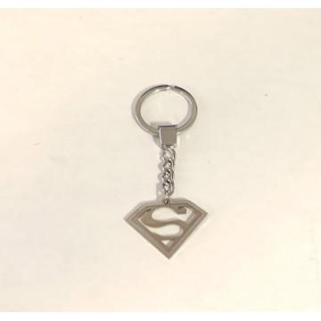Superman Laser Cut Metal Key Chain