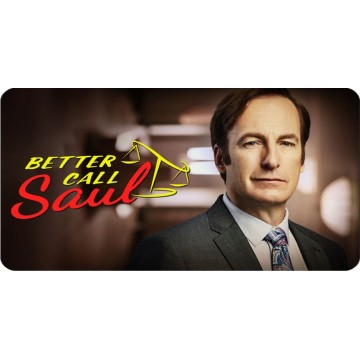 Better Call Saul Photo License Plate