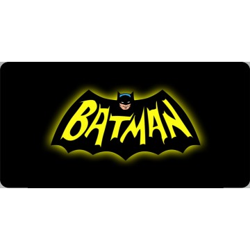 Batman Nostalgic Photo License Plate