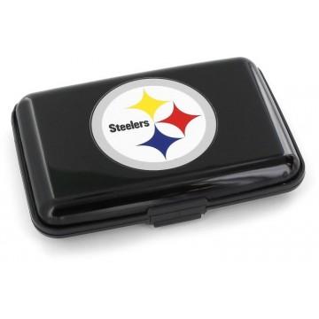 Pittsburgh Steelers Black Aluminum Wallet