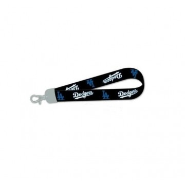 Los Angeles Dodgers Black And Blue Wristlet Lanyard