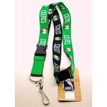 Boston Celtics Two Tone Lanyard With Safety Latch