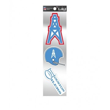 Houston Oilers Retro Spirit Decals