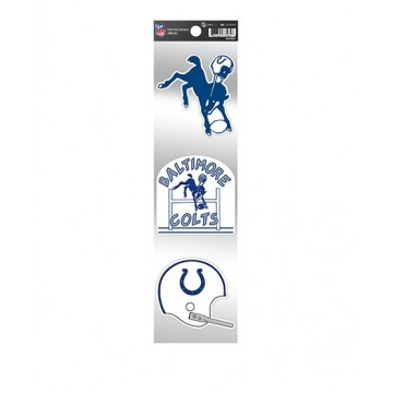 Baltimore Colts Retro Spirit Decals