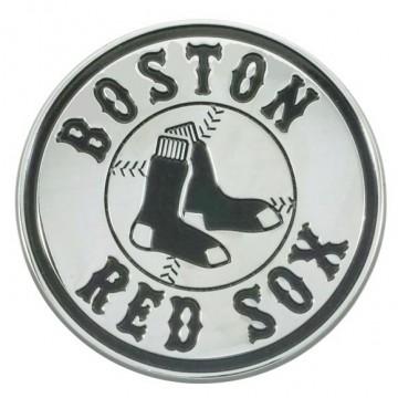 Boston Red Sox 3-D Metal Auto Emblem