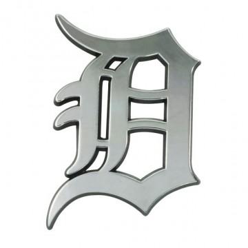 Detroit Tigers 3-D Metal Auto Emblem