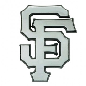 San Francisco Giants 3-D Metal Auto Emblem