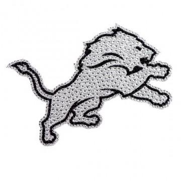 Detroit Lions Diamond Bling Auto Emblem