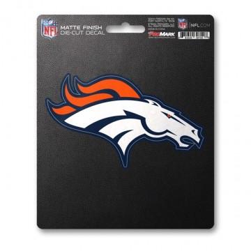Denver Broncos Matte Finish Decal